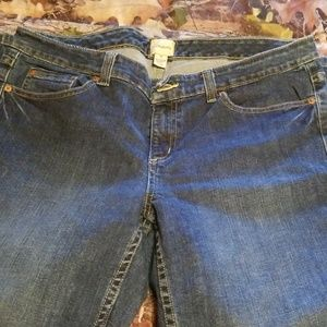 G.H.BASS & CO. LADIES JEANS